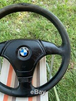 BMW e31 e34 e36 M3 M5 Z3 e39 OEM Leather Sport steering wheel AirBag
