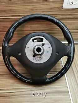 BMW e38 e39 e46 e53 X5 M5 OEM Leather ///M Sport Steering wheel