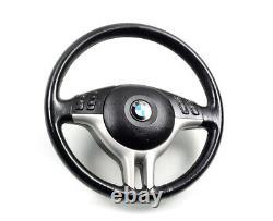 BMW e39 e46 e53 2000-2006 OEM Leather Sport steering wheel with AirBag Lenkrad