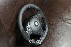 BMW e46 e39 e53 M3 M5 Perforated and Alcantara Leather M Sport Steering wheel
