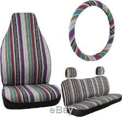 Bell Automotive Baja Blanket Complete Seat and Steering Wheel Cover, 22-1-56258-8