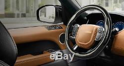 Black Anti-Slip Carbon Fiber Steering Wheel Cover For Mitsubishi Outlander 1pcs