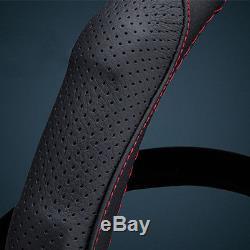 Black Auto Car Steering Wheel Cover Leather for Infiniti Q50 Q50L Q70 QX50/70/80