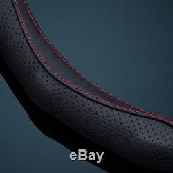 Black Car Steering Wheel Cover Frame Trim for Infiniti Q50 Q50L Q70 QX50/70/80