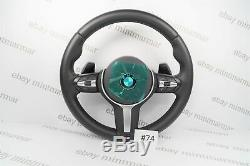 Bme 3 Series F30 F31 F34 F35 F80 M3 Vibro Steering Wheel With Shift Paddles #74