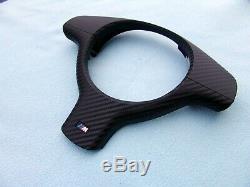 Bmw E46 M3, E39 M5 Steering Wheel Trim / Cover Rewrapped With Carbon Fiber Vinyl