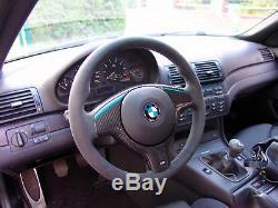 Bmw E46 Real Carbon Fiber Steering Wheel Cover For M Steering Wheel