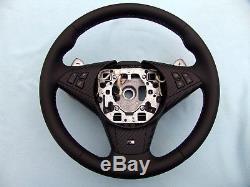 Bmw E60 M5, E63, E64 M6 Steering Wheel Cover Rewrapped With Carbon Fiber Vinyl