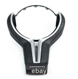 Bmw Genuine Carbon Fibre Steering Wheel Cover For M2 F87-new Oem 32302413480