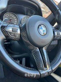 Bmw M2 M3 M4 M5 F87 F80 F82 F83 F10 X5m X6 M Steering Wheel Carbon Cover Trim