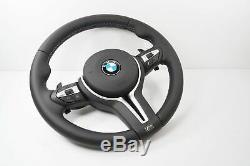 Bmw M3 M4 1 & 4 Series F15 F20 F30 F34 F35 M Sport LCI Vibro Steering Wheel #139