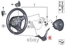 Bmw New Genuine F07 F01 F10 F11 F12 M Sport Steering Wheel Trim Cover 7841892