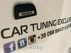 Brabus Style Steering Wheel Badge Logo for Mercedes