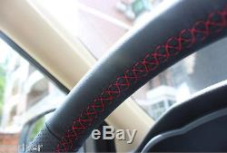 Brand NewCar Nubuck First Leather Steering Wheel Cover For Toyota Highlander