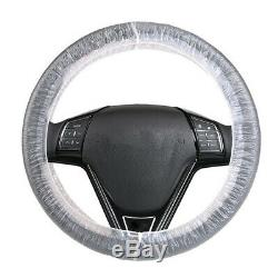 Car Steering Wheel Covers 500 Pcs Protective Covers Disposable Plastic Covers US