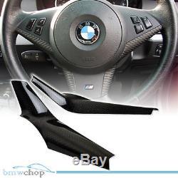 Carbon Fiber BMW E60 4D Sedan M5 Model 5-Series Steering Wheel Cover 2010