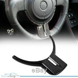 Carbon Fiber FR-S For GT86 BRZ ZC6 ZN6 Steering Wheel Cover Trim