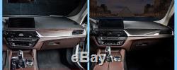 Carbon Fiber Pattern Sticker Interior Vinyl For BMW F10 F18 5 Series 2011- 2017