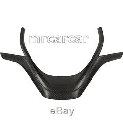 Carbon Fiber Replacement Steering Wheel Cover Fit For BMW 3Series F30 F31 12-16