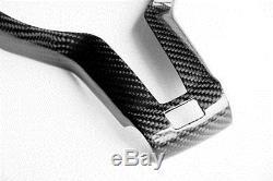 Carbon Fiber Steering Wheel Cover For BMW 3Series F30 F35 F31 F32 X5 M3 M5 B325Y