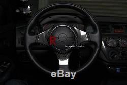 Carbon Fiber Steering Wheel Cover For Evo VII VIII IX 7 8 9