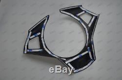 Carbon Fiber Steering Wheel Cover Frame for 2004-2010 E60 M5 2005 2006 2007 2008