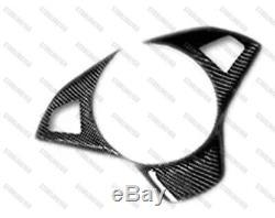 Carbon Fiber Steering Wheel Cover Frame for 2006-2010 BMW E63 E64 M6 2007 2009