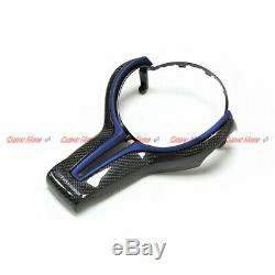 Carbon Fiber Steering Wheel Cover/Inner Trim for BMW M2 M3 M4 M5 M6 X5M X6M 14+