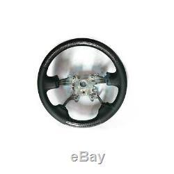 Carbon Fiber Steering Wheel Cover Interior For Land Rover Range Rover sport