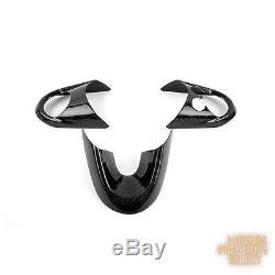 Carbon Fiber Steering Wheel Cover Set For Mini Cooper F54 F55 F56 14-16