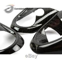 @ Carbon Fiber Steering Wheel Cover Set For Mini Cooper F54 F55 F56 JCW 14-16