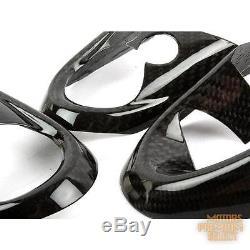 Carbon Fiber Steering Wheel Cover Set For Mini Cooper F54 F55 F56 JCW 14-16