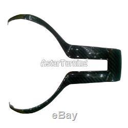 Carbon Fiber Steering Wheel Cover Trim Decor fit for BMW Mseries M2 M3 M4 M5 M6