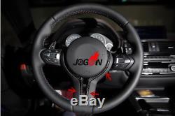 Carbon Fiber Steering Wheel Cover Trim For BMW F80 M3/F82 F83 M4/F10 M5/F12 M6