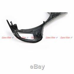 Carbon Fiber Steering Wheel Cover Trim for 08-13 BMW E90 E92 E93 M3 E82 1M 2011