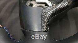 Carbon Fiber Steering Wheel Cover Trim for BMW E46 M3 E39 M5 M