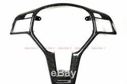 Carbon Fiber Steering Wheel Trim Frame for Mercedes AMG A45 C63 CLA45 CLS63 E63