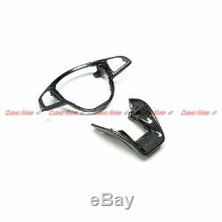 Carbon Fiber Steering Wheel Trim for Mercedes AMG C43 63 A45 E63 CLA45 CLS63 S65