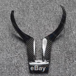 Carbon Fiber Tape-on Steering Wheel Cover Frame for BMW F20 F21 F22 F23 F30 F32