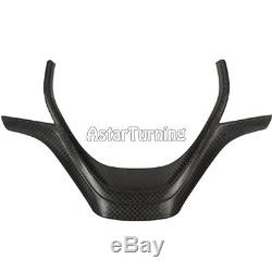 Carbon Fibre Steering Wheel Cover fit for BMW 3Ser F30 F31 12-16 High Configurat