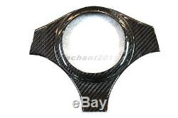 Carbon Kit Fit For 01-07 Mitsubishi Evolution 7-9 EVO 7 8 9 Steering Wheel Cover