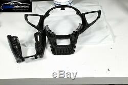 Carbon Lenkrad Lenkradblende Steering Wheel Cover passend Mercedes AMG W205 A45