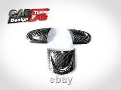 Carbon Steering Wheel Spoke Insert Covers For Mini Cooper S R55 R56 R57 R58 R59