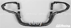 Chevrolet Colorado 2015+ Steering Wheel Trim 100% Carbon Fiber Honeycomb