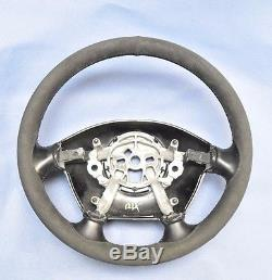 Chevrolet Corvette C5 Alcantara Steering Wheel Cover