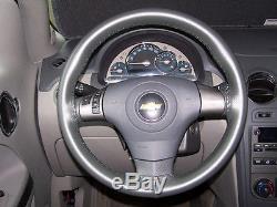 Chevrolet Genuine Leather Steering Wheel Cover All Models Custom Wheelskins CHWS