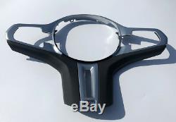 Chrome Steering Wheel cover trim For BMW 5 SERIES G30 G31 X3 X4 G01 G02 M5 2018
