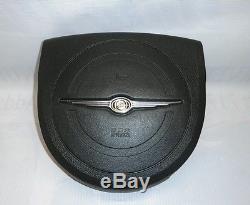 Chrysler 300 Oem Driver Side Steering Wheel Cover Black