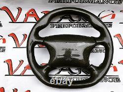 Cover Carbon Fiber Cap For Steering Wheel Only Mustang COBRA 99 04