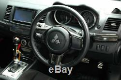 DRY CARBON cpd-Style Steering Wheel Cover For 08-12 Mitsubishi EVO X EVO 10
